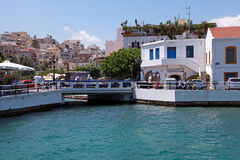 Agios Nikolaos, Crete, Greece. Royalty Free Stock Photos