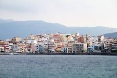 Agios Nikolaos. Crete, Greece Royalty Free Stock Image