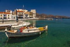 Agios Nikolaos Crete Stock Image