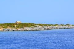 Agios nikolaos crete. Island, greece Stock Images