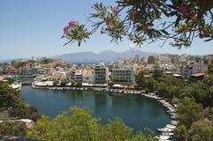 Agios Nikolaos, Crete island Stock Photo