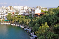 Agios Nikolaos, Crete Royalty Free Stock Photography