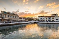 Agios Nikolaos. Royalty Free Stock Photo