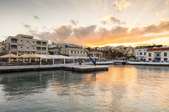 Agios Nikolaos. Stock Images