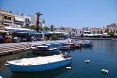 Agios Nikolaos, Grecja Obraz Stock