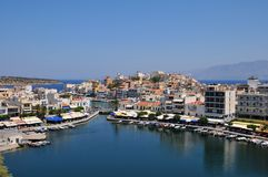 Agios Nikolaos , Greece Stock Images
