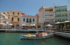 Agios Nikolaos, Greece Stock Image