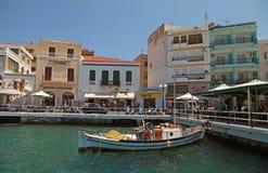 Agios Nikolaos, Greece Stock Image
