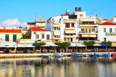 Agios Nikolaos Royalty Free Stock Photo