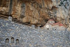 Agios Nikolaos kościół Fotografia Stock