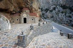 Agios Nikolaos kościół Fotografia Royalty Free