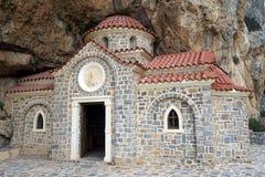 Agios Nikolaos kościół Obraz Royalty Free