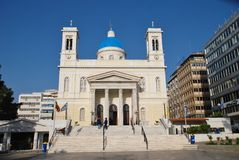 Agios Nikolaos kościół, Ateny Zdjęcia Royalty Free