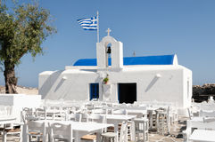 Agios Nikolaos kościół, Naoussa zdjęcia stock