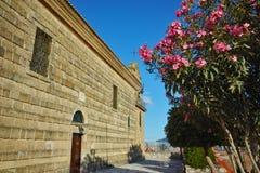 Agios Nikolaos kościół w Zakynthos mieście, Grecja Obrazy Stock