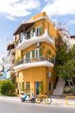 Agios Nikolaos, Kreta - 20. September 2017: Gebäude in Agios Ni Lizenzfreie Stockfotografie