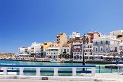 Agios Nikolaos laguna Zdjęcia Royalty Free