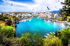 Agios Nikolaos Royalty Free Stock Photography