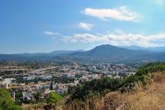 Agios Nikolaos miasteczko Zdjęcie Royalty Free