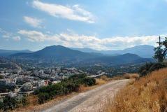 Agios Nikolaos miasteczko Zdjęcia Royalty Free