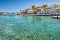 Agios Nikolaos na Crete Obrazy Stock