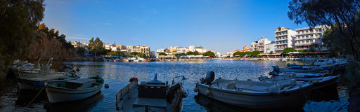 Agios Nikolaos Royalty Free Stock Photo