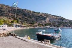 Agios Nikolaos port na Zakynthos Zdjęcie Stock