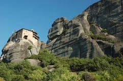 Agios Nikolaos rock monastery,Meteora,Greece Stock Image