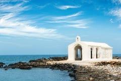 Agios Nikolaos Saint Nicholas church, Giorgoupoli in Crete Greece. Agios Nikolaos Saint Nicholas church, Giorgoupoli in Crete, Greece Royalty Free Stock Photo