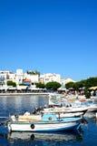 Agios Nikolaos schronienie, Crete Fotografia Stock