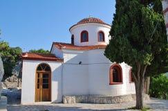 Agios Nikolaos, Skiathos Royaltyfria Foton