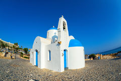 Agios Nikolaos (St Nicholas Church), Protaras, Cyprus Royalty Free Stock Photos