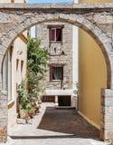Agios Nikolaos Street Immagini Stock