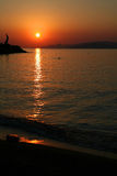 Agios Nikolaos sunrise 3 Stock Images