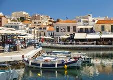 Agios Nikolaos wewnętrzny schronienie Zdjęcie Stock