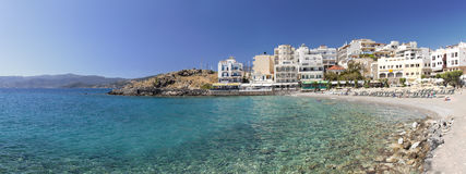 Agios Nikolas Beach Crete Royalty Free Stock Images