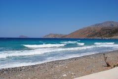 Agios Nikolas, Crète, Grèce Image stock