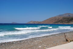 Agios Nikolas, Creta, Grécia imagem de stock