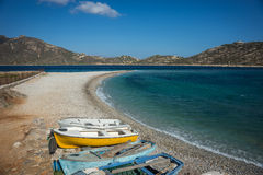 Agios Pablos beach, Amorgos, Cyclades, Greece Stock Photo