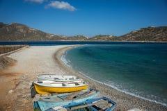 Agios Pablos beach, Amorgos, Cyclades, Greece Stock Photo