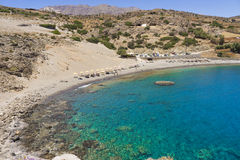 Agios Pavlos beach in Crete island, Greece Royalty Free Stock Photo