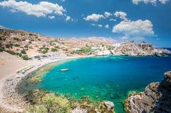 Agios Pavlos Beach in Crete island, Greece. Stock Images