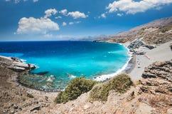Agios Pavlos Beach in Crete island, Greece. Stock Photography
