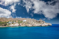 Agios Pavlos Beach in Crete island, Greece. Royalty Free Stock Photo