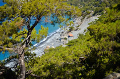 Agios Pavlos beach Royalty Free Stock Photography