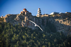 Agios Savvas, Kalymnos Stockfoto