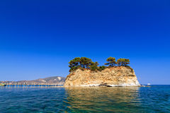 Agios Sostis Royalty Free Stock Photo