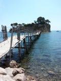 Agios Sostis Island stock afbeelding