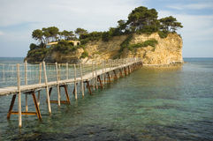 Agios Sostis Island Royalty Free Stock Photo