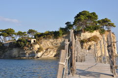 Agios Sostis Island , Greece Stock Photography
